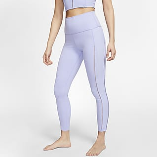Nike Yoga Luxe Leggings a costine Infinalon a 7/8 - Donna