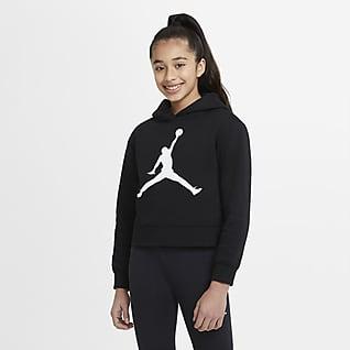 Jordan Kapucnis pulóver nagyobb gyerekeknek (lányok)