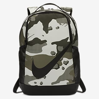 Nike Brasilia Mochila estampada para niños