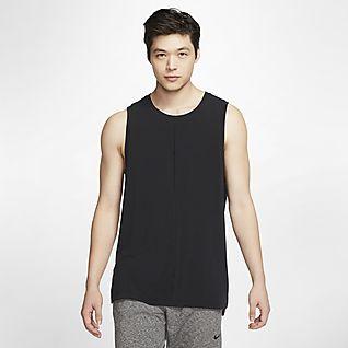 Nike Yoga เสื้อกล้ามผู้ชาย