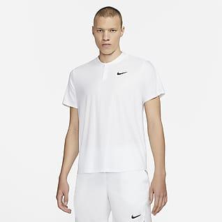 NikeCourt Dri-FIT Advantage Tennisskjorte til herre