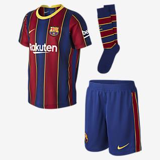 Домашняя форма ФК «Барселона» 2020/21 Футбольный комплект для дошкольников