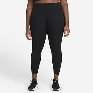 Nike One Luxe Women's Mid-Rise Ribbed Leggings (Plus Size)
