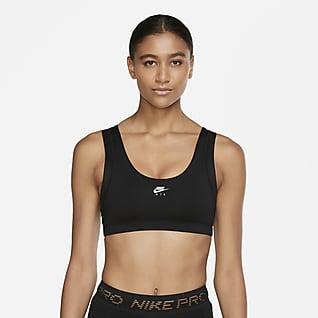 Nike Air Indy Enyhe tartást adó női sportmelltartó