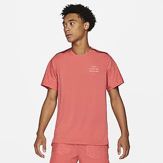 Nike Dri-FIT Rise 365 Run Division Ανδρική κοντομάνικη μπλούζα για τρέξιμο