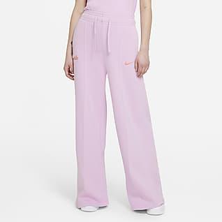 Nike Sportswear Pantalón de tejido Fleece - Mujer