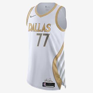 Dallas Mavericks City Edition Nike NBA Authentic Jersey