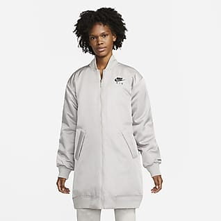 Nike Air Therma-FIT Chamarra bomber con relleno sintético para mujer