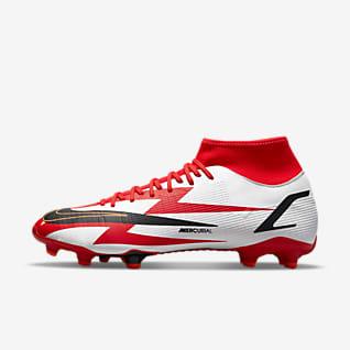 Nike Mercurial Superfly 8 Academy CR7 MG รองเท้าสตั๊ดฟุตบอลสำหรับพื้นหลายประเภท