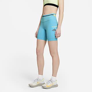 Nike Epic Luxe Arazi Tipi Kadın Koşu Şortu