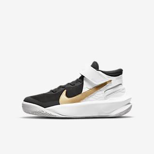 Nike Team Hustle D 10 FlyEase (GS) 大童篮球童鞋