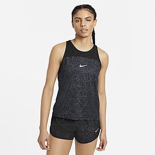 Nike Miler Run Division Baskılı Kadın Koşu Atleti