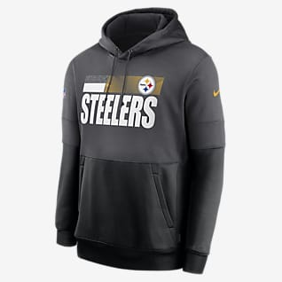 Nike Therma Team Name Lockup (NFL Pittsburgh Steelers) Herren-Hoodie