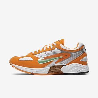 Fashion Shoes in 2020 | Orange nike shoes, Orange shoes