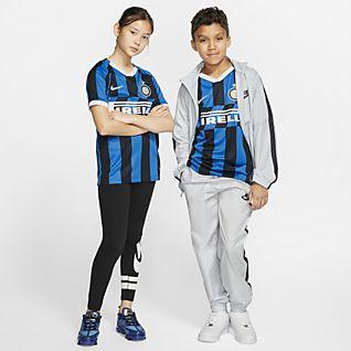 Inter Milan 2019/20 Stadium Home Maillot de football pour Enfant plus âgé