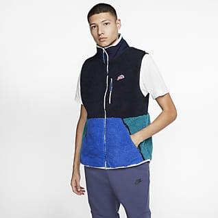 Nike Sportswear Veste sans manches en tissu Fleece sherpa pour Homme