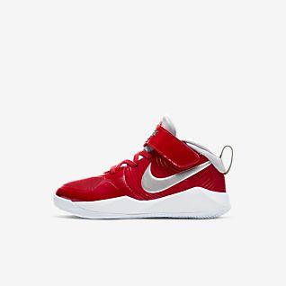 Nike Team Hustle D 9 Auto (PS) 幼童运动童鞋