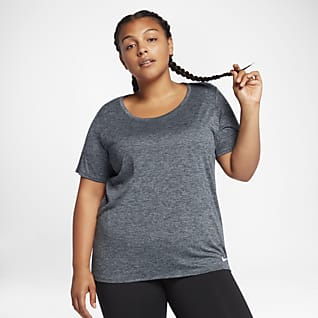 Nike Dri-FIT Legend Camiseta de entrenamiento de manga corta para mujer (talla grande)