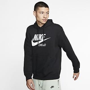 Nike Sportswear Sudadera con capucha de vellón para hombre