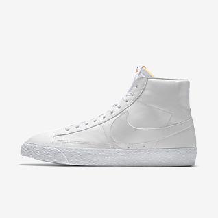 nike huarache white, Nike Shoe Sneakers Blazer Mid Premium