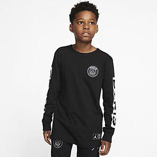 PSG Older Kids' (Boys') Long-Sleeve T-Shirt