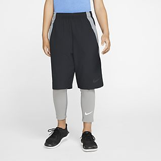 Nike Pro Big Kids' (Boys') Training Tights
