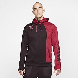 Nike F.C. Sudadera con capucha de fútbol - Hombre