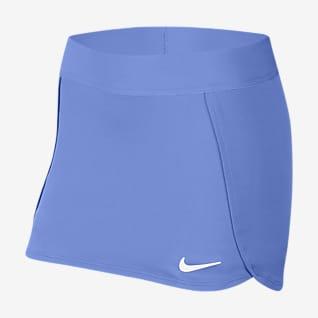NikeCourt Tenisová sukně pro větší děti (dívky)