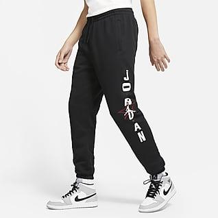 Jordan Legacy AJ6 Pantalones de tejido Fleece con gráfico para hombre