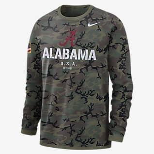 Nike College Dri-FIT (Alabama) Men's Long-Sleeve Sweatshirt