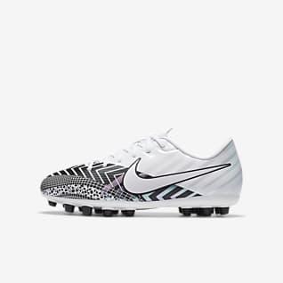 Nike Jr. Mercurial Vapor 13 Academy MDS AG Chaussure de football à crampons pour terrain synthétique pour Jeune enfant/Enfant plus âgé