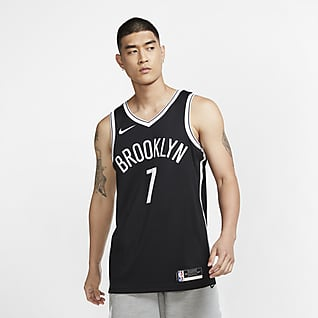 2020 赛季布鲁克林篮网队 (Kevin Durant) Icon Edition Nike NBA Swingman Jersey 男子球衣