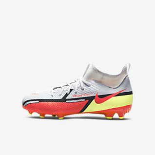 Nike Jr. Phantom GT2 Academy Dynamic Fit MG Fußballschuh für verschiedene Böden für jüngere/ältere Kinder