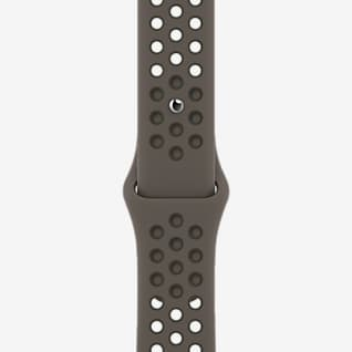 41 mm Olive Gray/Cargo Khaki Nike Sport Band - Regular