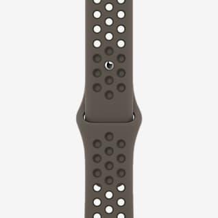 Olive Gray/Cargo Khaki (41 mm) Sportbandje van Nike (standaard)