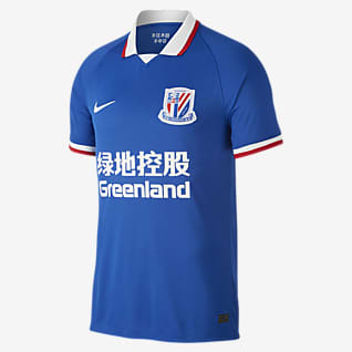 Shanghai Greenland Shenhua F.C. 2020 Stadium Home Men's Football Shirt