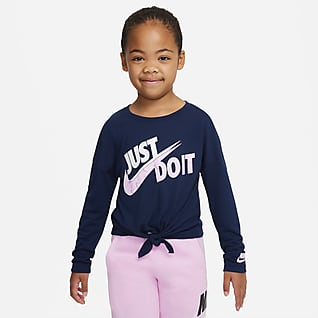 Nike Sportswear Little Kids' Long-Sleeve T-Shirt