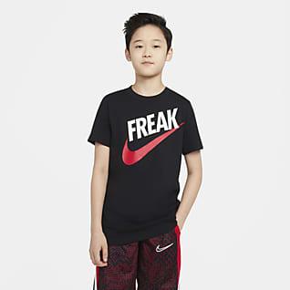 Nike Dri-FIT Giannis T-shirt dla dużych dzieci (chłopców)