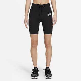Nike Air กางเกงวิ่งรัดรูปขาสั้นผู้หญิง