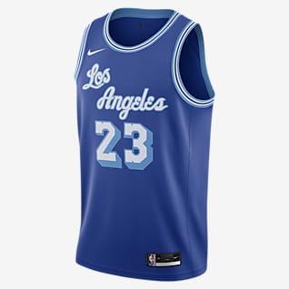 2020 赛季洛杉矶湖人队 Classic Edition Nike NBA Swingman Jersey 男子球衣