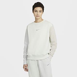 Nike Sportswear Swoosh Kadın Crew Üst
