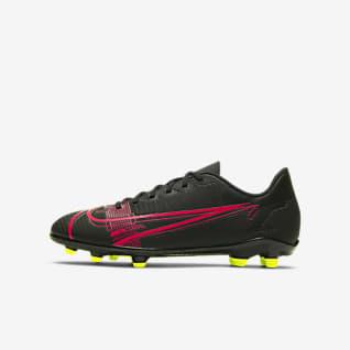 Nike Jr. Mercurial Vapor 14 Club FG/MG Chaussure de football à crampons multi-surfaces pour Jeune enfant/Enfant plus âgé
