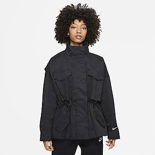 Nike Sportswear Collection Essentials Chamarra M65 para mujer