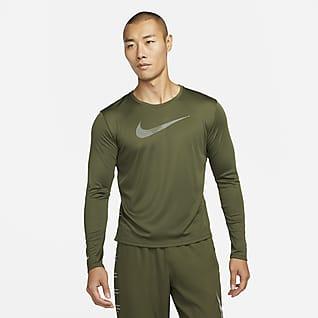 Nike Dri-FIT UV Run Division Miler 男款長袖跑步上衣
