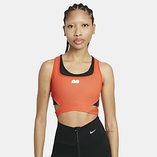 Naomi Osaka Top curto de ténis para mulher