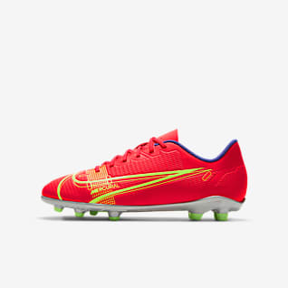 Nike Jr. Mercurial Vapor 14 Club FG/MG Ποδοσφαιρικό παπούτσι για διαφορετικές επιφάνειες για μικρά/μεγάλα παιδιά