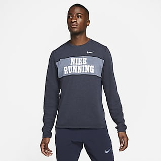 Nike Dri-FIT Heritage Camiseta de cuello redondo de running para hombre
