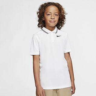 Nike Dri-FIT Victory Chlapecká golfová polokošile