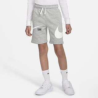 Nike Sportswear Swoosh 大童(男孩)短裤