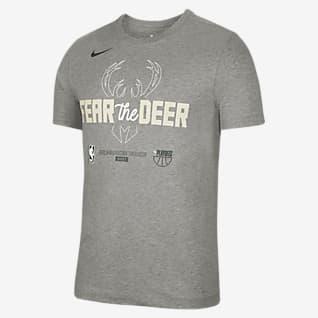 密尔沃基雄鹿队 Nike NBA 男子T恤